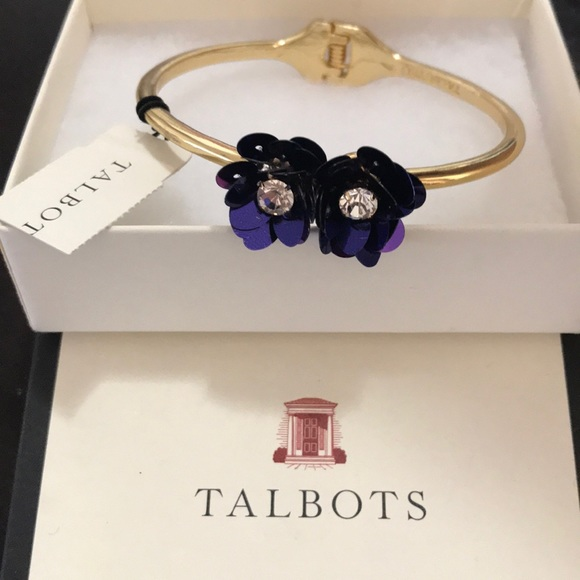 TALBOTS hinged bracelet NEW